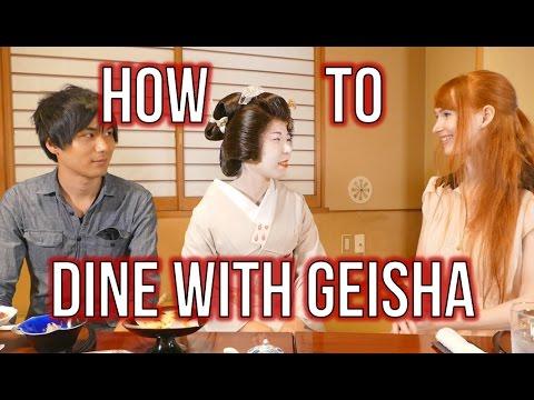 Jak stolovat s gejšou