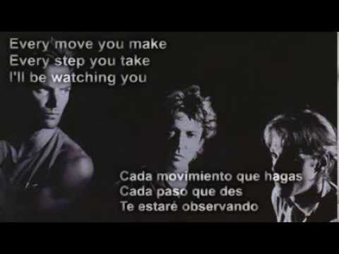 The Police - Every Breath You Take (subtitulada en español)