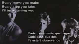 The Police   Every Breath You Take (subtitulada En Español)