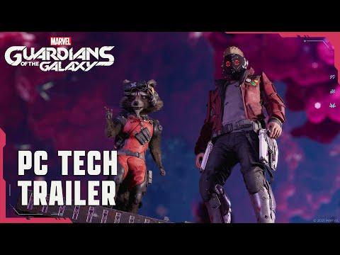 PC Tech Trailer de Marvel's Guardians of the Galaxy