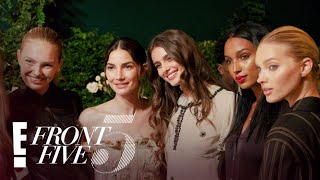 See Lily Aldridge Prep For NYFW & Perfume Launch Party | NYFW Front Five | E!