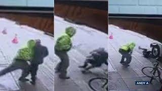 DISTURBING VIDEO: Man shoved under truck in downtown LA | ABC7