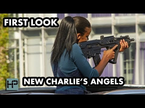 FIRST LOOK at Charlie's Angels Reboot - Filming in Germany Staring Kristen Stewart and Noah Centineo