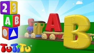 Das Englische Alphabet | ABC auf Englisch Lernen | ABC Puzzle | TuTiTu Englisch lernen
