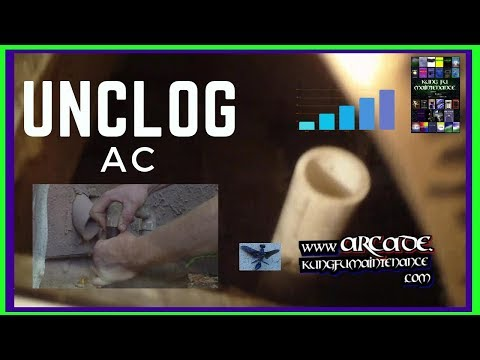 How To Unclog Clogged Air Conditioner Condensate Drain Wet Carpet Floor In Front Of AC