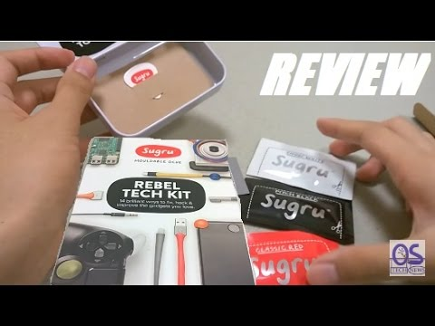 REVIEW: Sugru Moldable Rubber Glue - Rebel Tech Kit?!