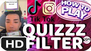 HOW TO FIND THE INSTAGRAM TIKTOK QUIZ (QUIZZZ) TRIVIA FILTER - PCS GIRLS