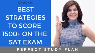 How to Get 1500+ on the SAT | How to Crack the SAT Exam & Perfect Study Plan | ChetChat