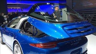 Porsche's New 911 Targa Sports Car | Detroit Auto Show 2014