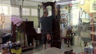 Restoring an Antique Tall Case Clock