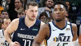 Dallas Mavericks vs Utah Jazz - Full Game Highlights | January 25, 2020 | 2019-20 NBA Season