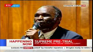 Maina:My application was going to terminate this case in 15 minutes