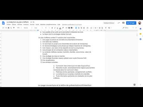 , title : 'Plan d'affaires   introduction