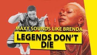 Resurrection of  Brenda Fassie (Maxy) OMG😮😮😲😲