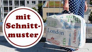 Koffer nähen | mit ChezNU-Schnittmuster | Koffer Kapstadt