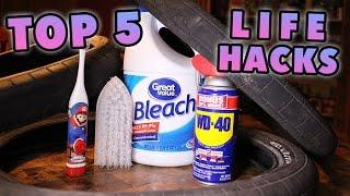 TOP 5 BMX TIRE LIFE HACKS!!!