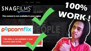 Cara menonton Film yang tidak tersedia untuk Indonesia / daerah kita