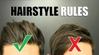 10 Hairstyle Rules EVERY GUY SHOULD FOLLOW!