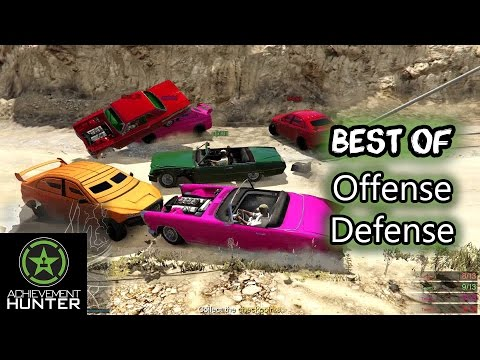 The Very Best of Let's Play - GTA V - Offense Defense | Achievement Hunter