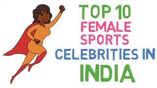 Top 10 Female Sports Celebrities in India | Famous Indian Sports Women | Sports GK Study IQ