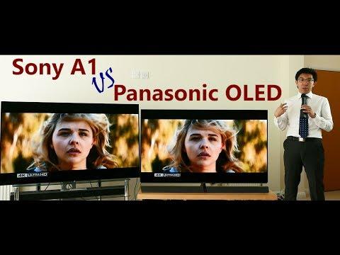 Sony A1 vs Panasonic 2017 OLED TV Comparison!