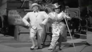 JUDY GARLAND: 'YANKEE DOODLE BOY' WITH MICKEY ROONEY FROM 'BABES ON BROADWAY'.