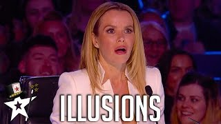 Best Illusionists Around the World on Magicians Got Talent - dooclip.me