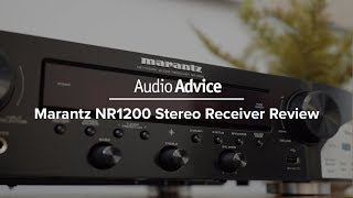 Just Released: Marantz NR1200 Stereo Receiver Review