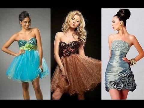 6b9163dcd Los 20 Mejores Vestidos ♥ Cortos y Elegantes ♥ para tu Fiesta de Promoción    Graduación YouTube Video