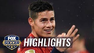James Rodriguez gets his first hat trick for Bayern Munich   2019 Bundesliga Highlights