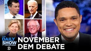 2020 November Democratic Debate in Atlanta | The Daily Show
