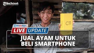 LIVE UPDATE Siswa di Rumpin Bogor Jual Ayam untuk Beli Smartphone untuk Kegiatan Belajar Daring
