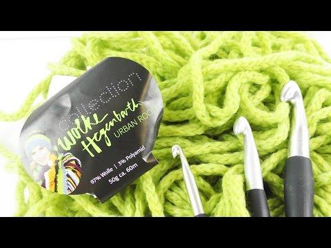 DREI Häkelnadeln im Vergleich | 8-10er Wolle mit der 6er, 9er & 12er Nadel häkeln | Unterschiede
