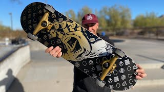 OUR 8.25 COMPLETE PRODUCT CHALLENGE w/ ANDREW CANNON!   Santa Cruz Skateboards