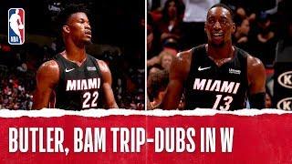 Butler, Bam BOTH Earn Triple-Double