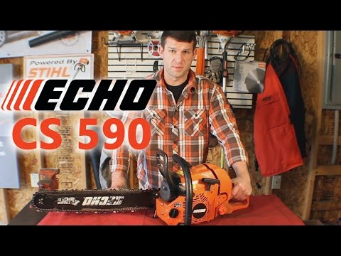 Echo CS 590 chainsaw review