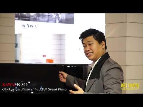 Giới thiệu tổng quan về Model đàn piano Kawai K800