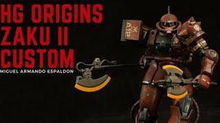 Feature Builder - HG Zaku II Origins Custom (Miguel Armando Espaldon)