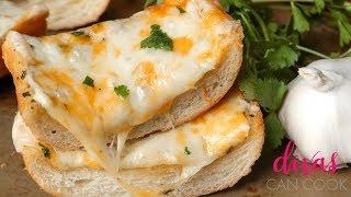 Addictive Cheesy Garlic Bread