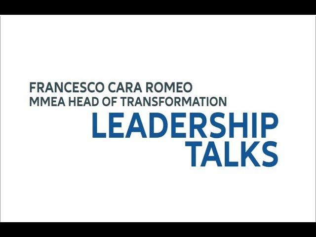 Leadership Talks Francesco Cara Romeo