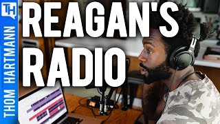 Was Reagan to Blame For Conservative Hate Radio?