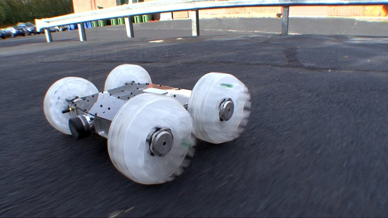 This Remote Controlled Car Can Jump 9 Metres Up In The Air
