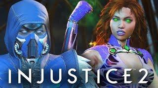 Injustice 2 - БРЕЙН ПРОТИВ ДАШИ! ОБЗОР НОВЫХ ПЕРСОВ!