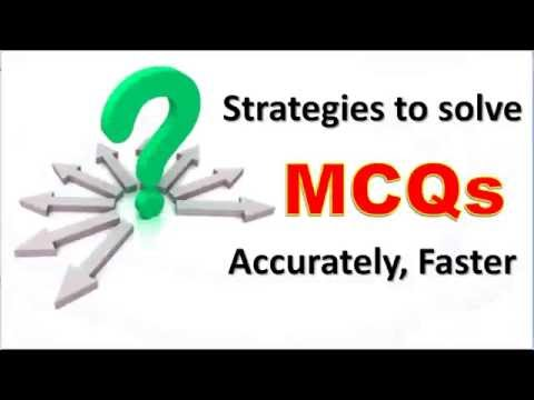 Tips for attempting Multiple Choice Questions - MCQ Exam ...