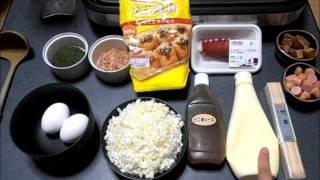 How To Make Takoyaki☆たこ焼きの作り方