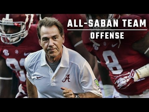 Drafting the ultimate All-Saban offense