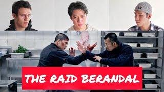 REAKSI   The RAID 2 Berandal Final Scene by Foreign Film Maker