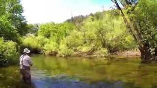 Fly Fishing: River Vituncica, Croatia