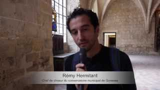 Livre Vermeil de Montserrat - A Royaumont avec La Camera delle Lacrime et des élèves de Gonesse