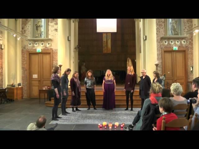Pure Voice Concert, projectkoor intuïtieve muziek – Op Hodenpijl – compilatie